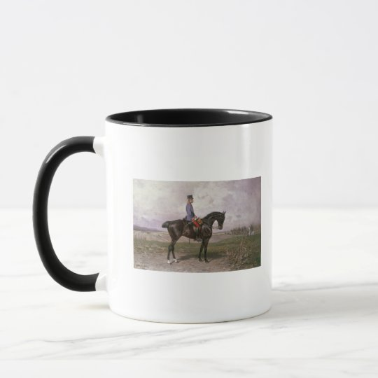 Emperor Franz Joseph I on his Austrian horse Mug