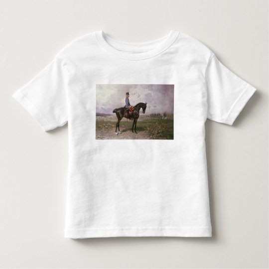 Emperor Franz Joseph I on his Austrian horse Toddler T-shirt
