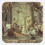 Emperor Frederick Barbarossa's wedding Square Sticker