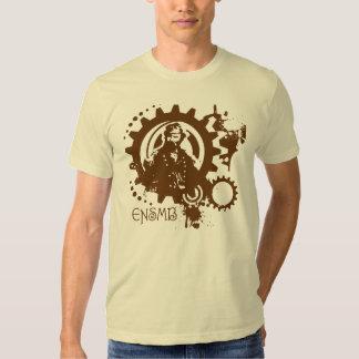Emperor gears plain T T-shirt