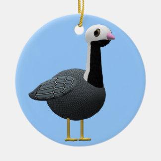 Emperor Goose Ceramic Ornament