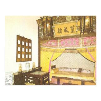 Emperor Guangxu's Bedchamber Postcard