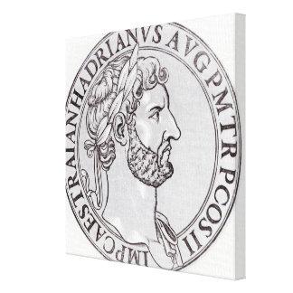 Emperor Hadrian Canvas Print