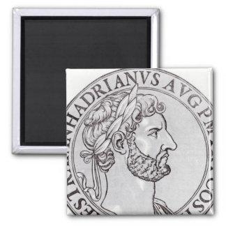 Emperor Hadrian Fridge Magnets