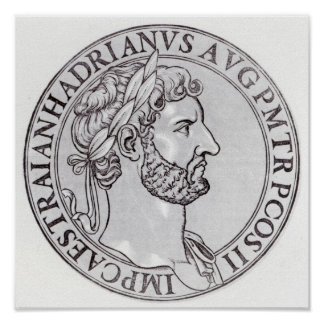 Emperor Hadrian Poster