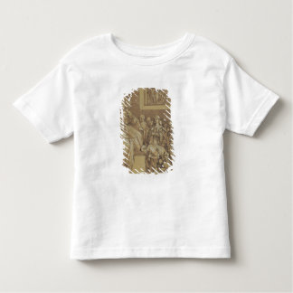 Emperor Henri IV  at the feet of Pope Gregory Toddler T-shirt