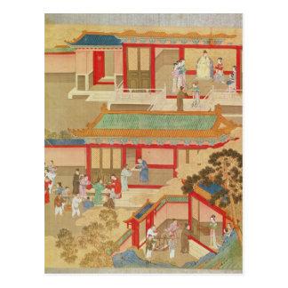 Emperor Hsuan Tsung  at home Postcard