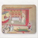 Emperor Hui Tsung  practising with the Buddhist Mouse Pad