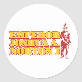 Emperor Joshua A.Norton I sticker