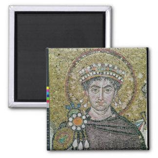 Emperor Justinian I  c.547 AD Magnet