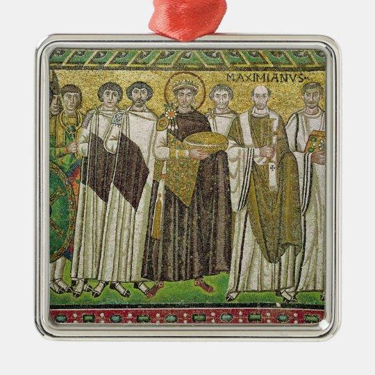 Emperor Justinian I Metal Ornament