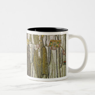 Emperor Justinian I Two-Tone Coffee Mug