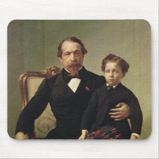 Emperor Louis-Napoleon Bonaparte  and his son Mouse Pad