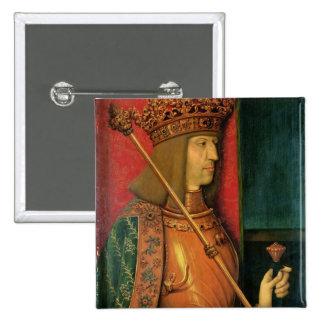 Emperor Maximilian I Pinback Button