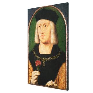 Emperor Maximilian I, c.1508-09 Gallery Wrapped Canvas