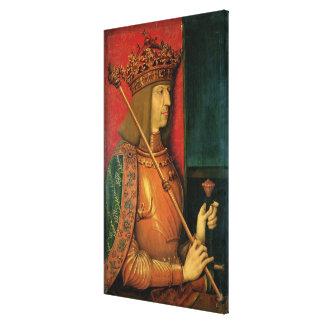 Emperor Maximilian I Stretched Canvas Print