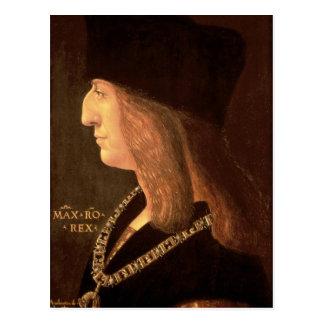 Emperor Maximilian I of Germany , 1502 Postcard