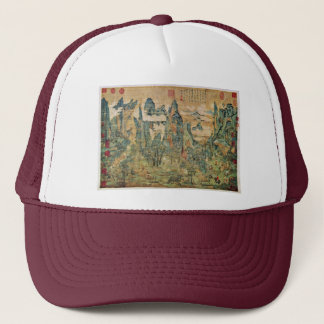 Emperor Ming Huang On A Visit To Shu By Li Chao-Ta Trucker Hat