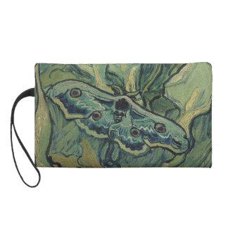 Emperor Moth by Vincent Van Gogh Wristlets