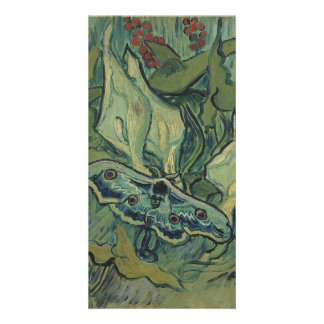 Emperor Moth by Vincent Van Gogh Card