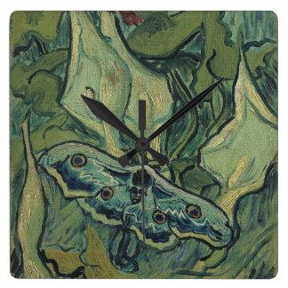 Emperor Moth by Vincent Van Gogh Wallclocks