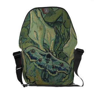 Emperor Moth by Vincent Van Gogh Courier Bags