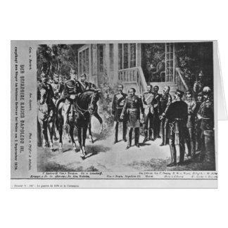 Emperor Napoleon III and Kaiser Wilhelm I Card