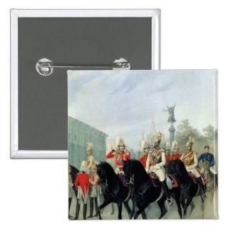 Emperor Nicholas I  and Grand Duke Alexander Pinback Button