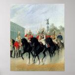 Emperor Nicholas I  and Grand Duke Alexander Print