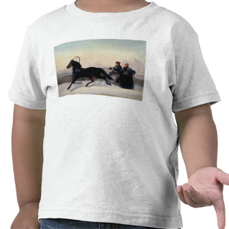 Emperor Nicholas I  Driving in a Sleigh T-shirt