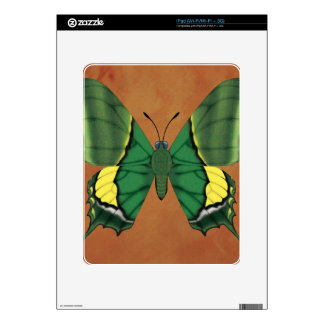Emperor of India Butterfly iPad Skin
