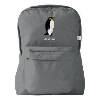 Emperor penguin american apparel™ backpack