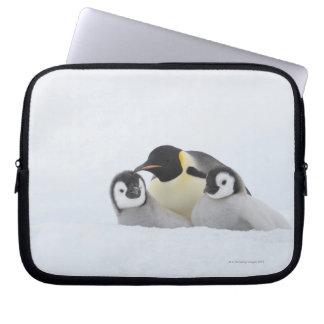 Emperor Penguin (Aptenodytes forsteri) 2 Computer Sleeve