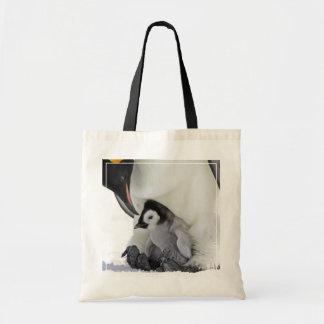 Emperor Penguin At Snow Hill Island Tote Bag