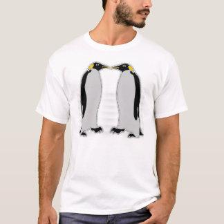 Emperor Penguin Couple T-Shirt