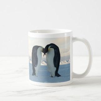 Emperor Penguin Courtship Coffee Mug