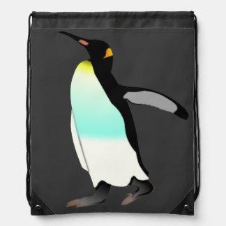Emperor Penguin Drawstring Backpack