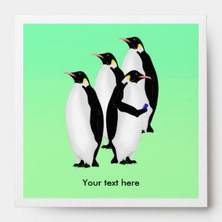Emperor Penguin Online Line Envelope