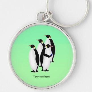 Emperor Penguin Online Line Keychain