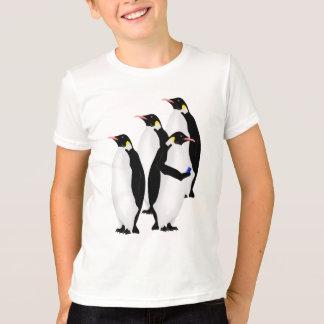 Emperor Penguin Online Line T-Shirt
