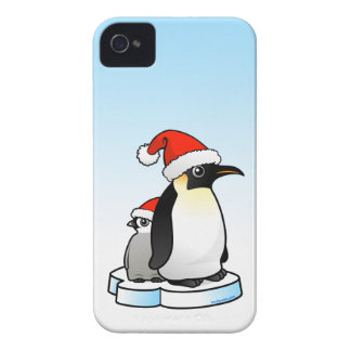 Emperor Penguin Santa Case-Mate iPhone 4 Case