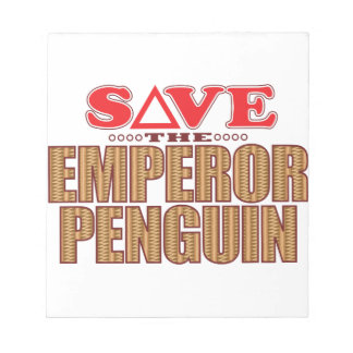 Emperor Penguin Save Notepad