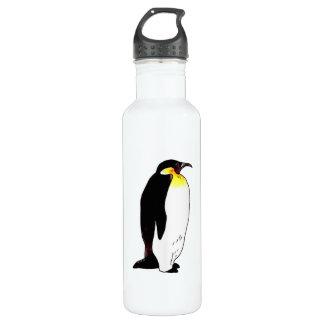 Emperor penguin stainless steel water bottle