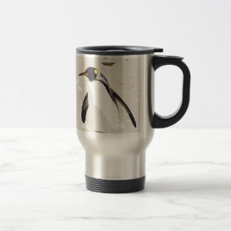 Emperor penguin travel mug