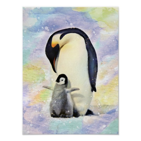 Emperor Penguins and Chick - Snow Hill Island iPhone 11 case