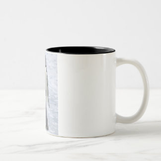 Emperor Penguin with Chick - mug