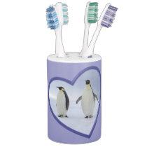 Emperor Penguins Bathroom Set