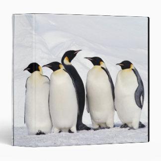 Emperor Penguins Binder