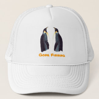 Emperor Penguins Customizable Cap