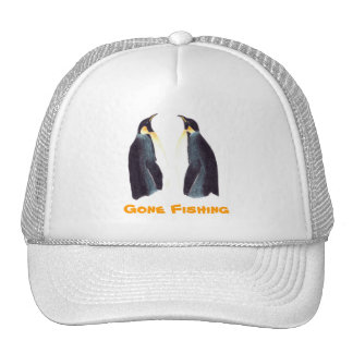 Emperor Penguins Customizable Cap Mesh Hat